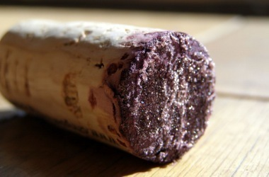 oxidized wine cork, bad wine