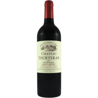 Bottle shot for 2010 Chateau Tourteran