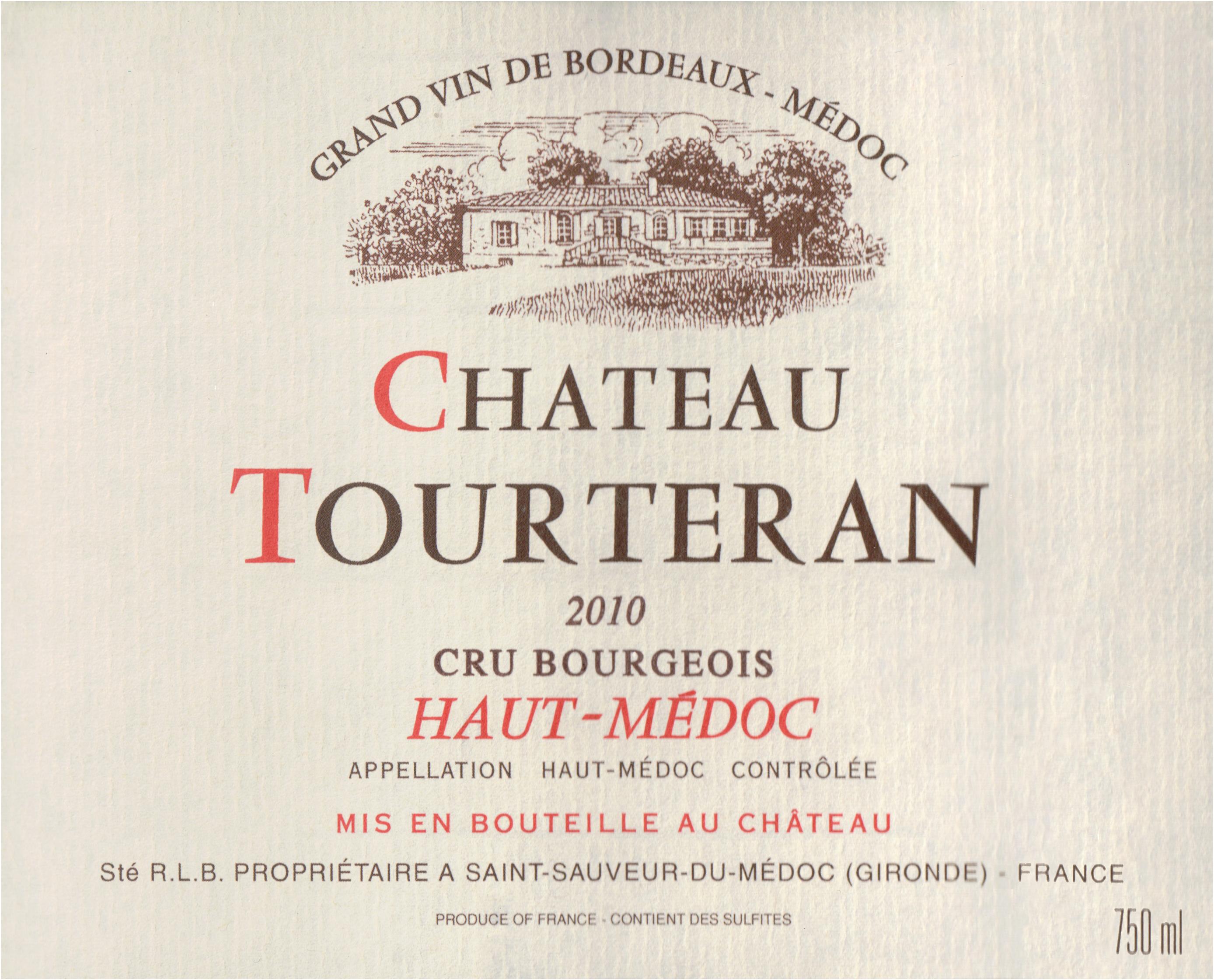 Chateau Tourteran 2010