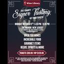 Charity Super Tasting 2017 10/09/2017