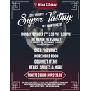 Charity Super Tasting 2017 Vip 10/09/2017