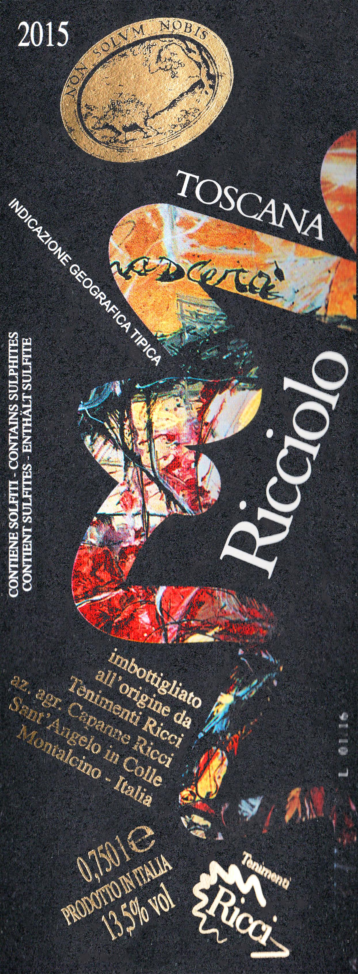 Capanne Ricci Ricciolo Igt 2015
