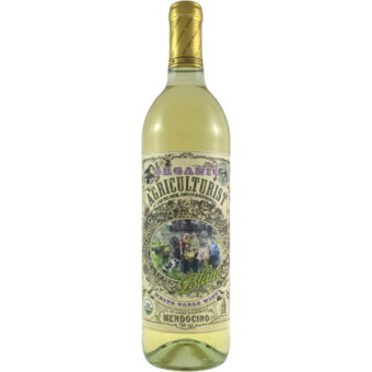 Bottle shot for  Frey Agriculturist Organic Blanc