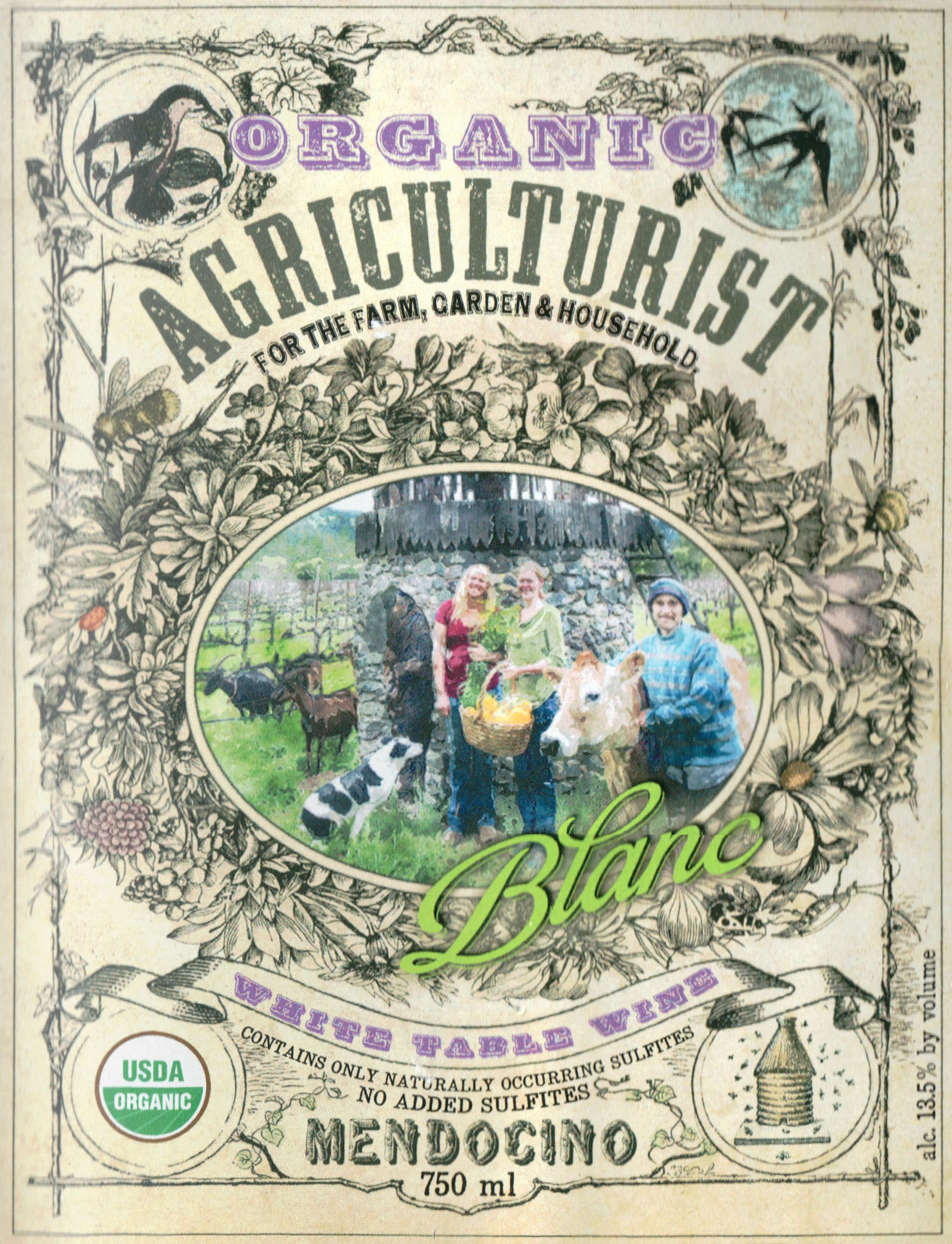 Frey Agriculturist Organic Blanc