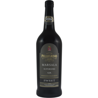 Bottle shot for  Pellegrino Sweet Marsala