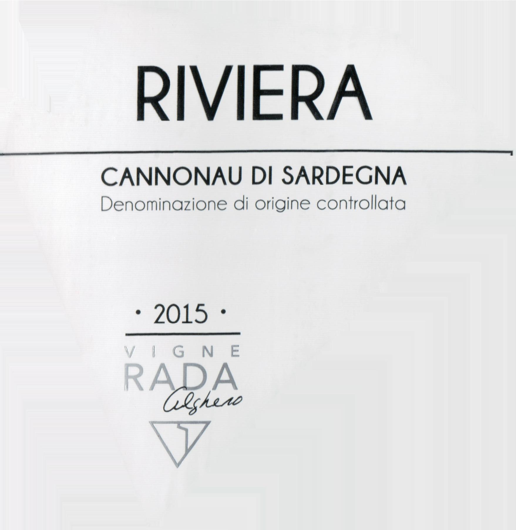 Vigne Rada Cannonau Di Sardegna 2015
