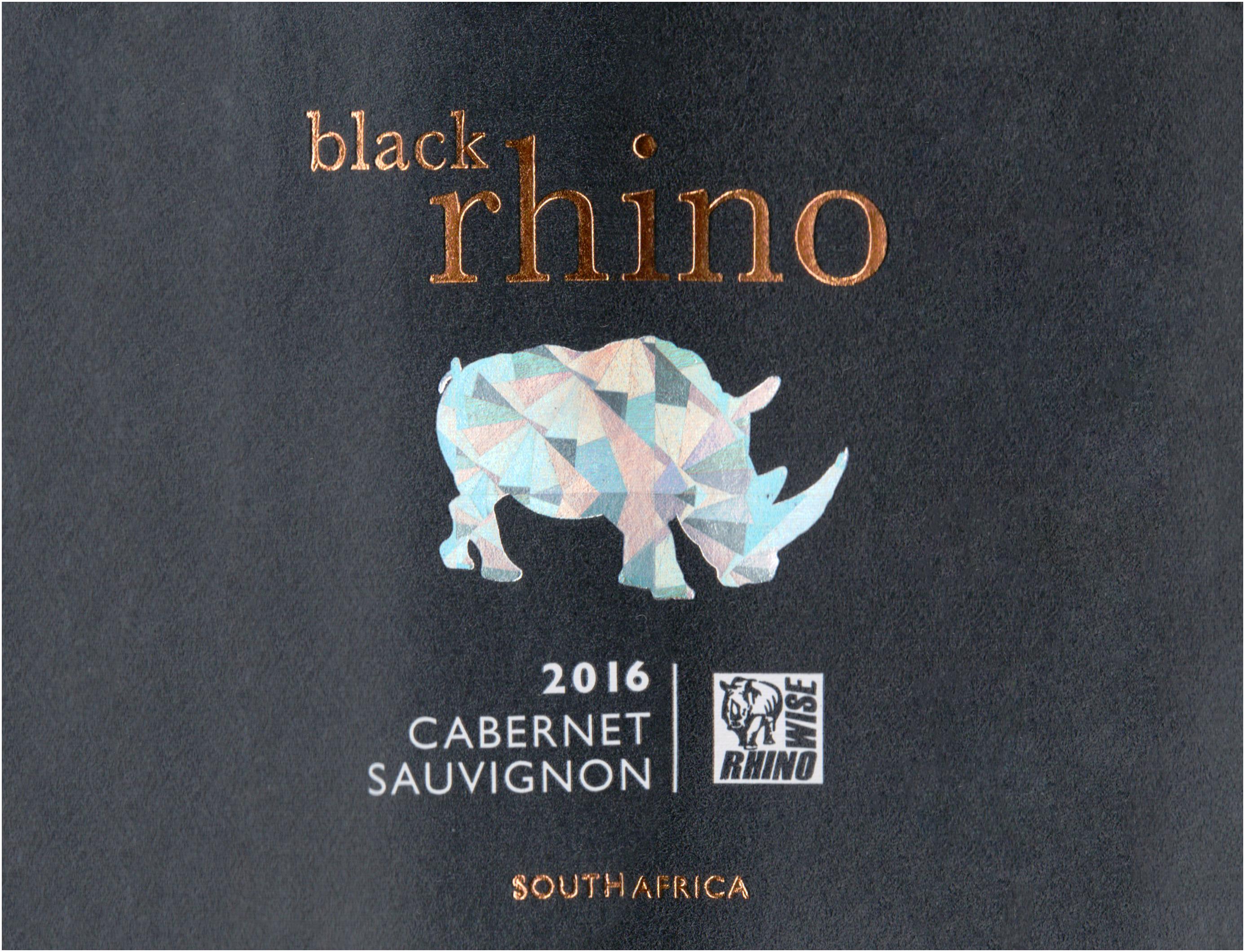 Black Rhino Cabernet Sauvignon 2016