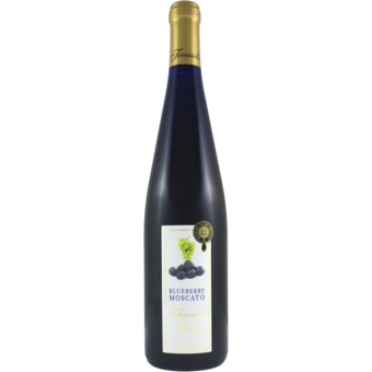 Bottle shot for  Tomasello Blueberry Moscato