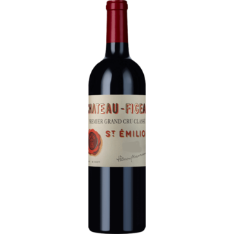 Bottle shot for 2015 Chateau Figeac