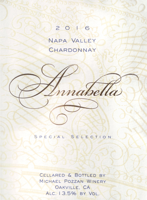 Annabella Chardonnay 2016