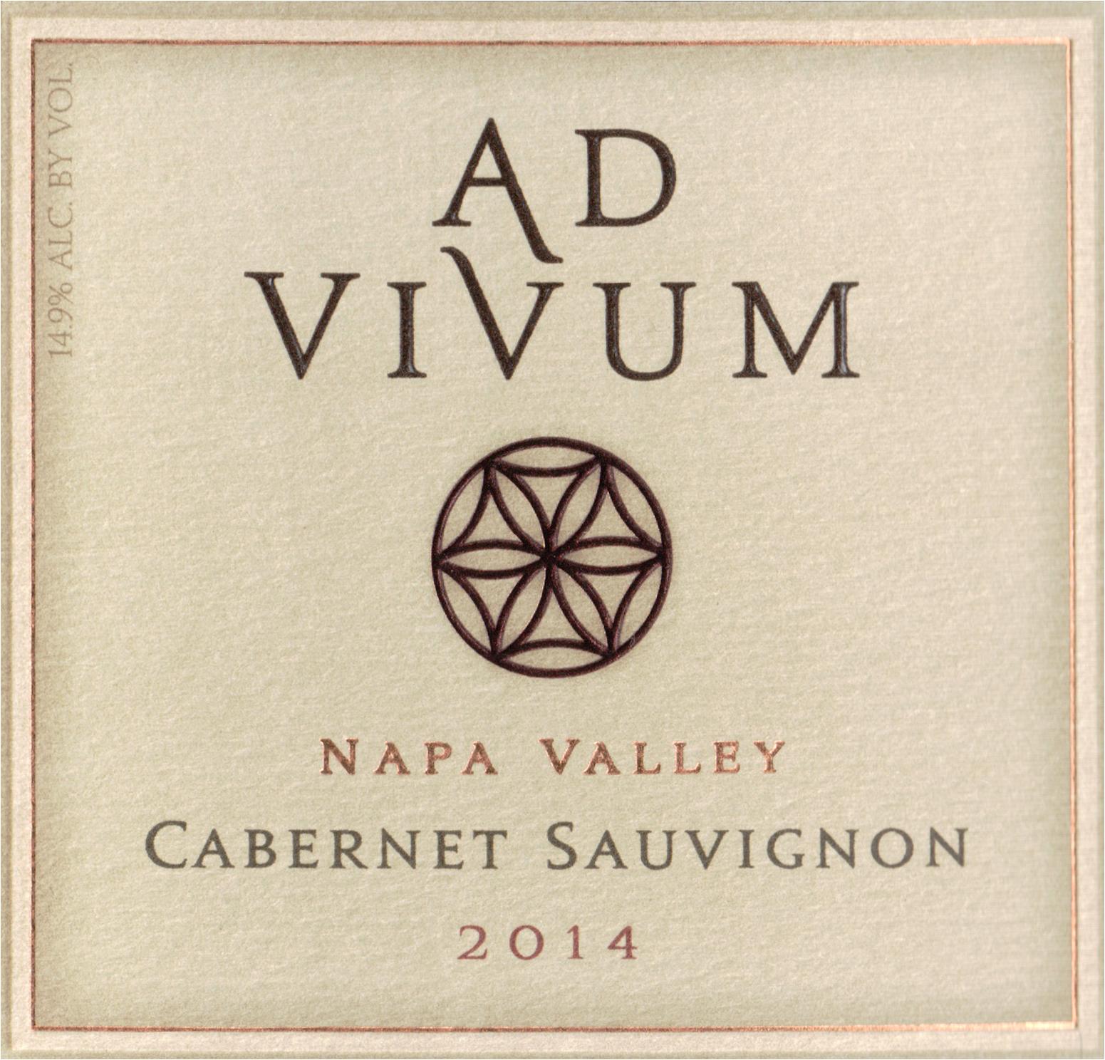 Ad Vivum Cabernet Sauvignon Napa Valley 2014