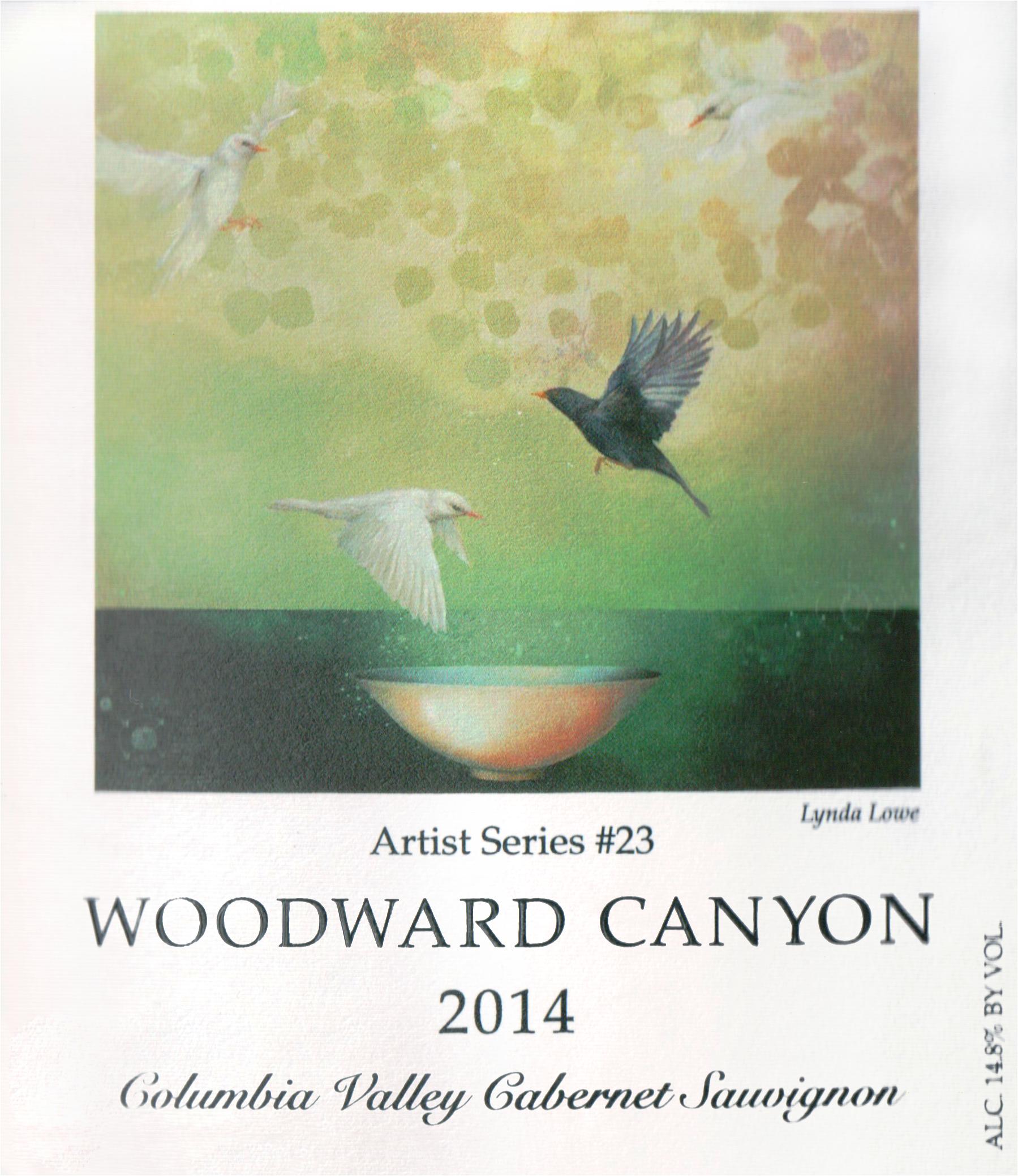 Woodward Canyon Cabernet Sauvignon Artist Series 2014