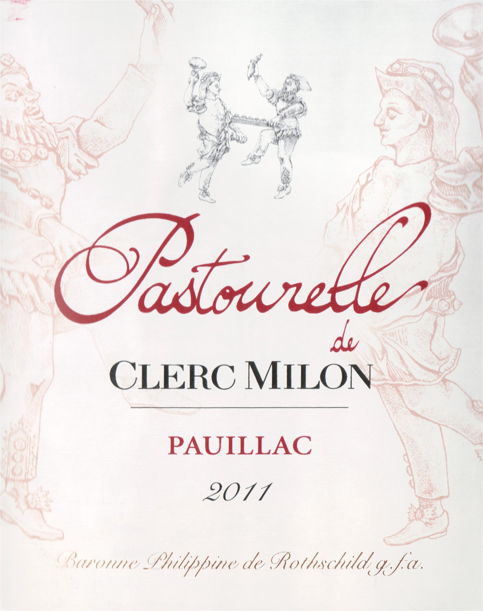 Pastourelle De Clerc Milon 2011