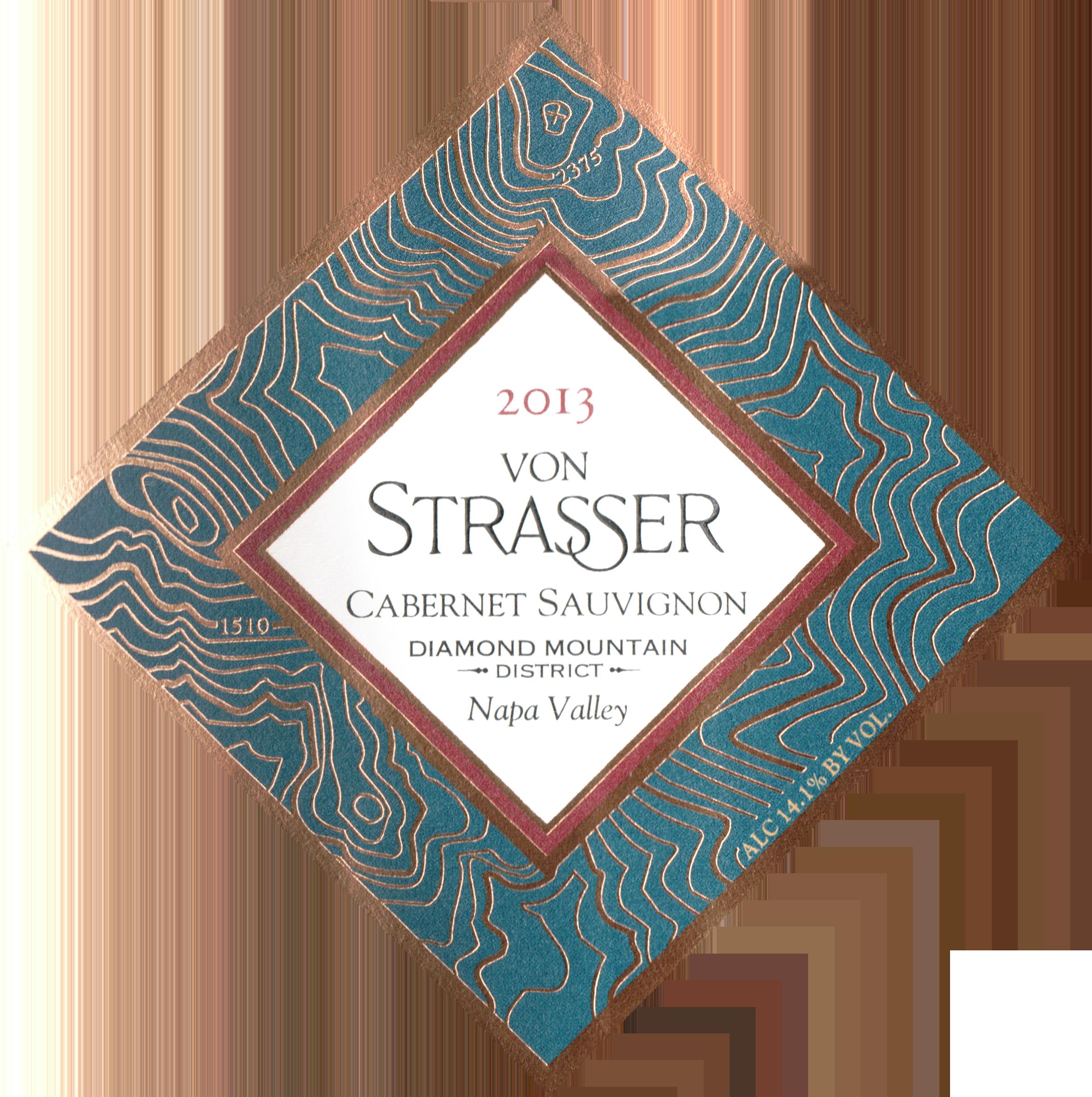 Von Strasser Diamond Mountain Cabernet Sauvignon 2013