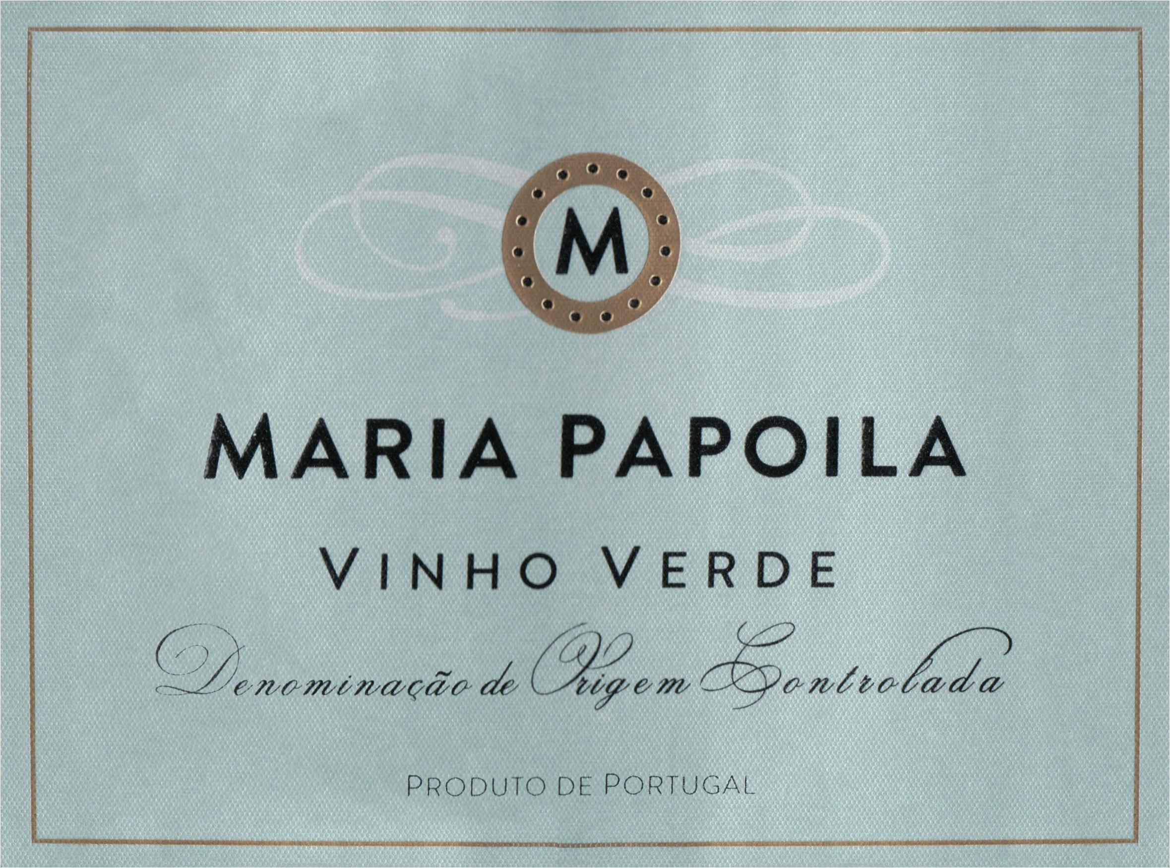 Maria Papoila Vinho Verde 2016
