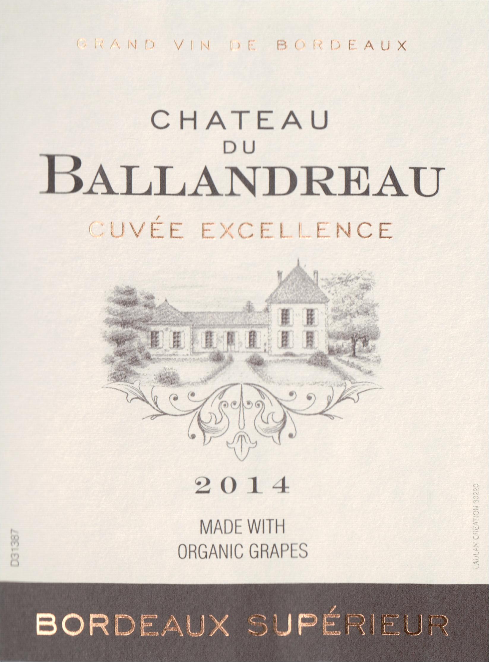 Chateau Ballandreau 2014
