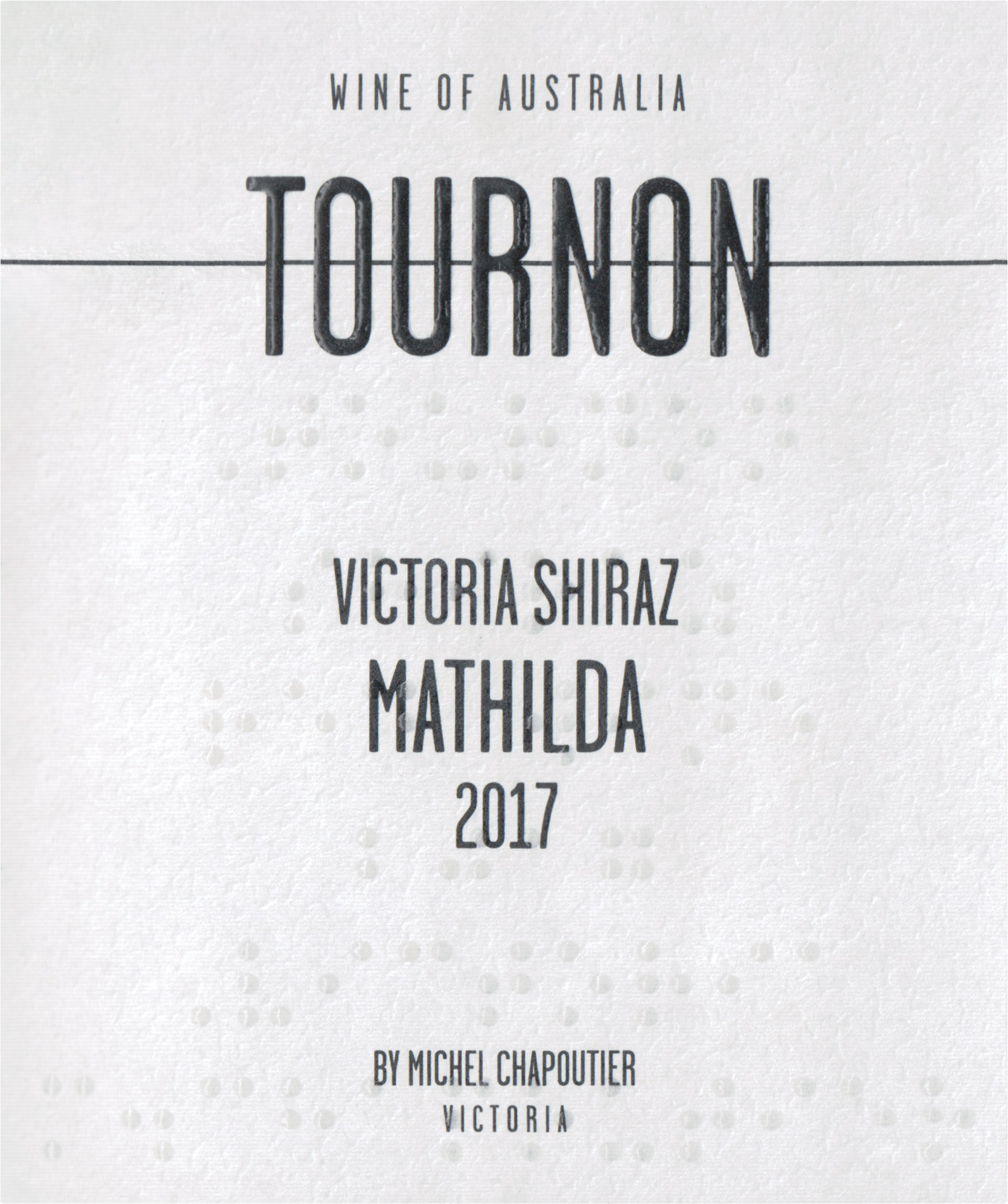 Domaine Tournon Mathilda Shiraz 2017