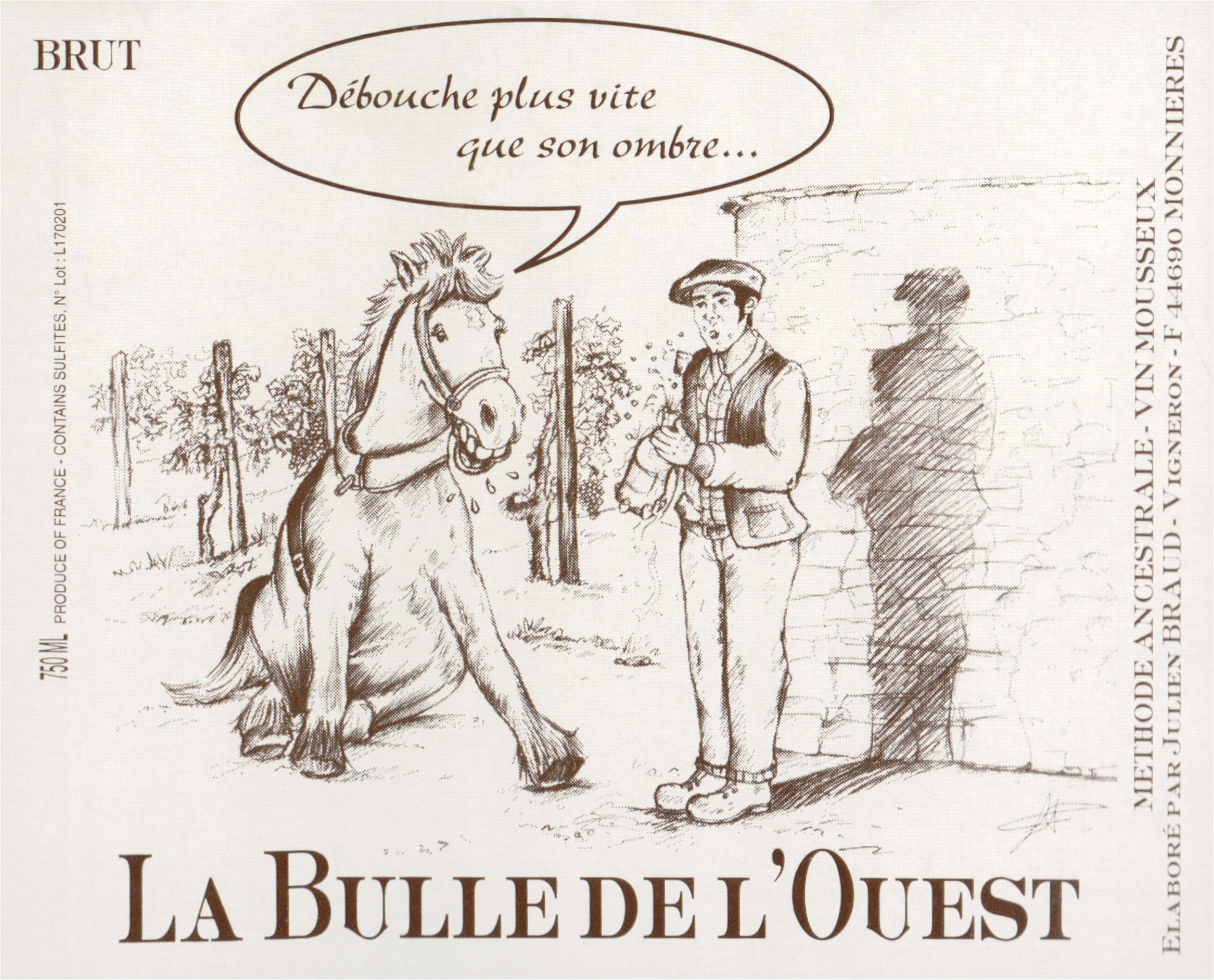 Julien Braud La Bulle De Louest Brut 750ml