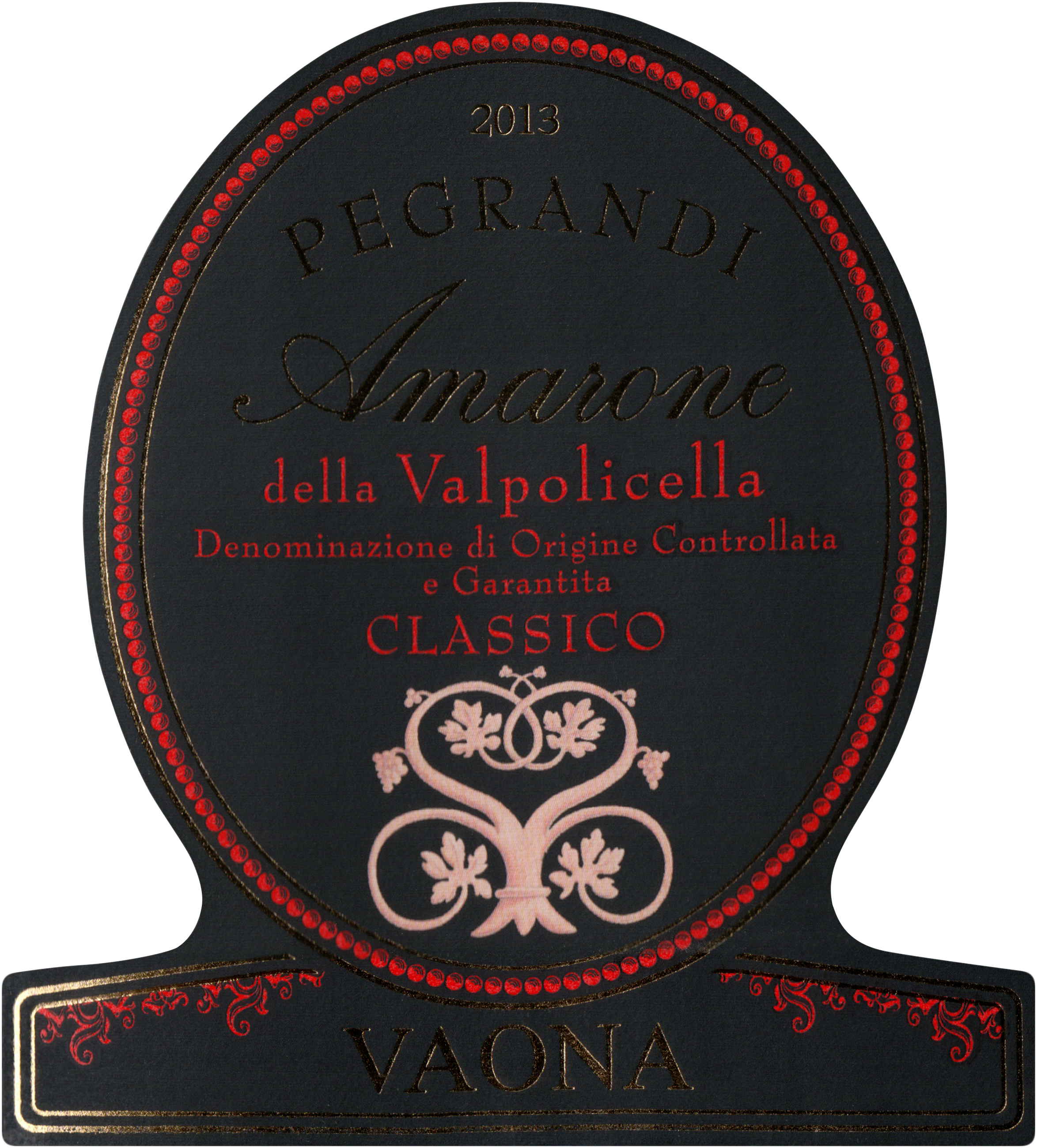 Vaona Pegrandi Amarone Classico 2013