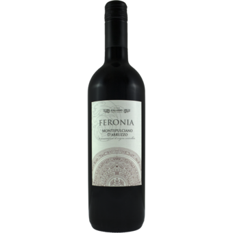 Bottle shot for 2017 Feronia Montepulciano