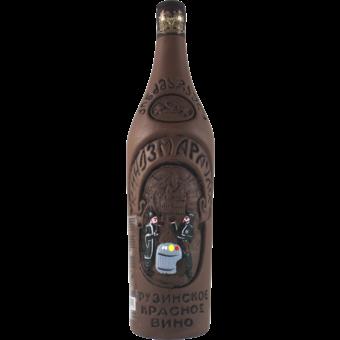 Bottle shot for 2014 Kindzmarauli Semi Sweet Clay