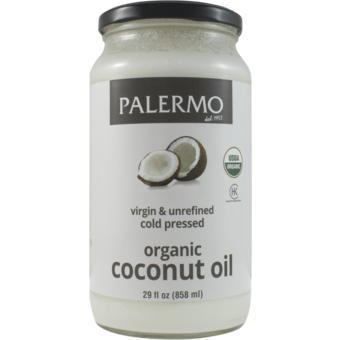 Bottle shot for  Palermo Coconut Oil