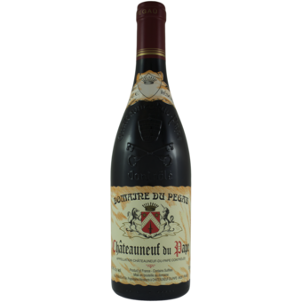 Bottle shot for 2016 Domaine Pegau Chateauneuf Du Pape Cuvee Reserve