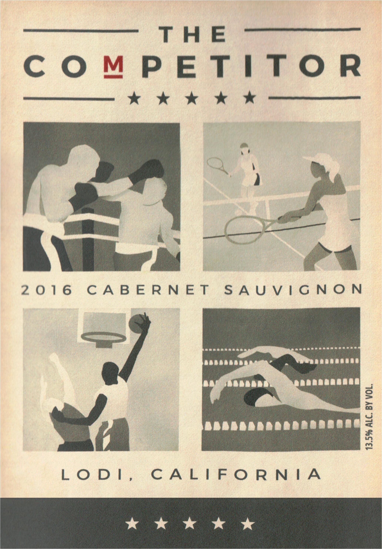 The Competitor Cabernet Sauvignon 2016