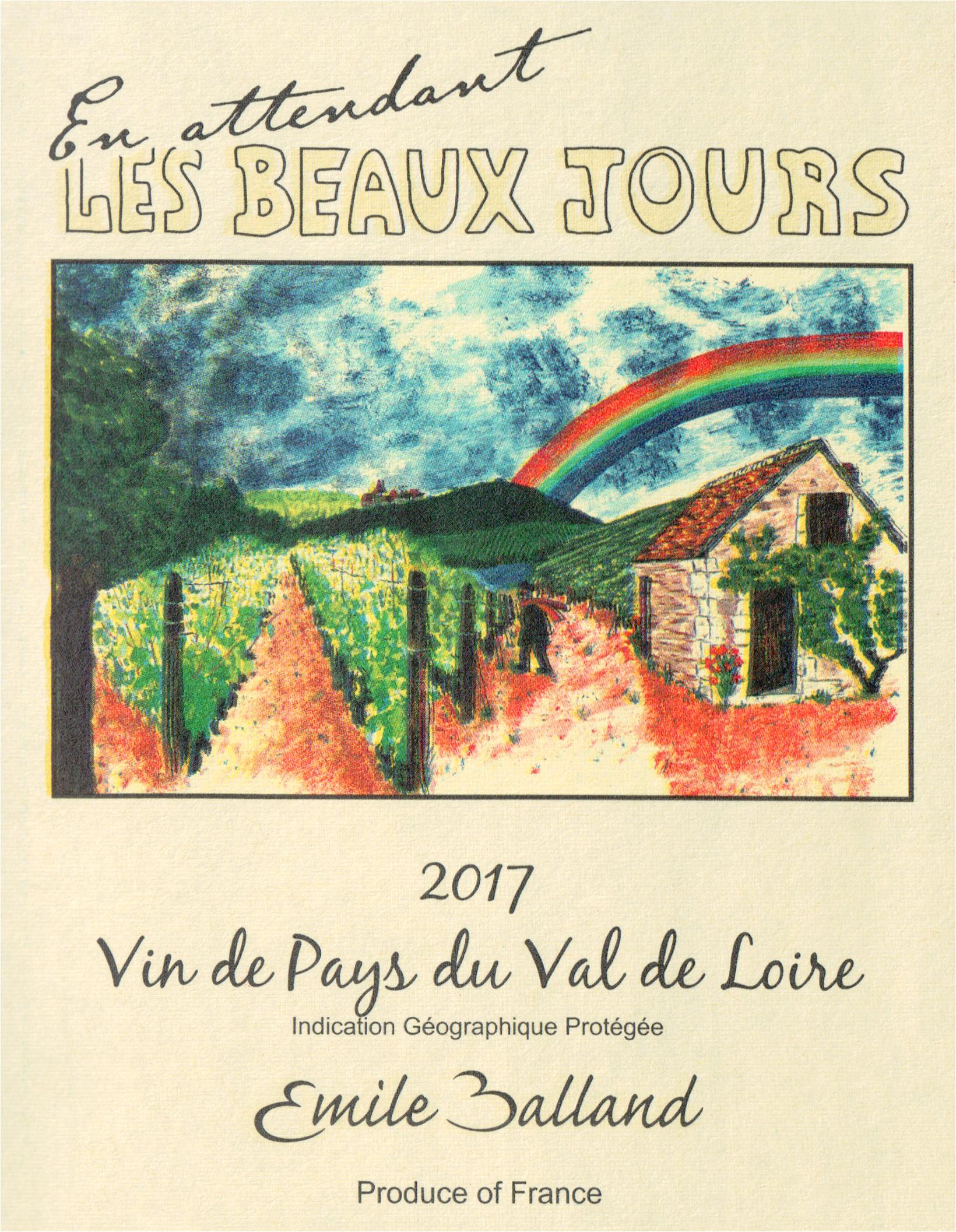 2017 Emile Balland En Attendant Les Beaux Jours Rose   Wine Library 8ff05aac957f