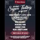 Charity Super Tasting 2018 Vip 10/08/2018