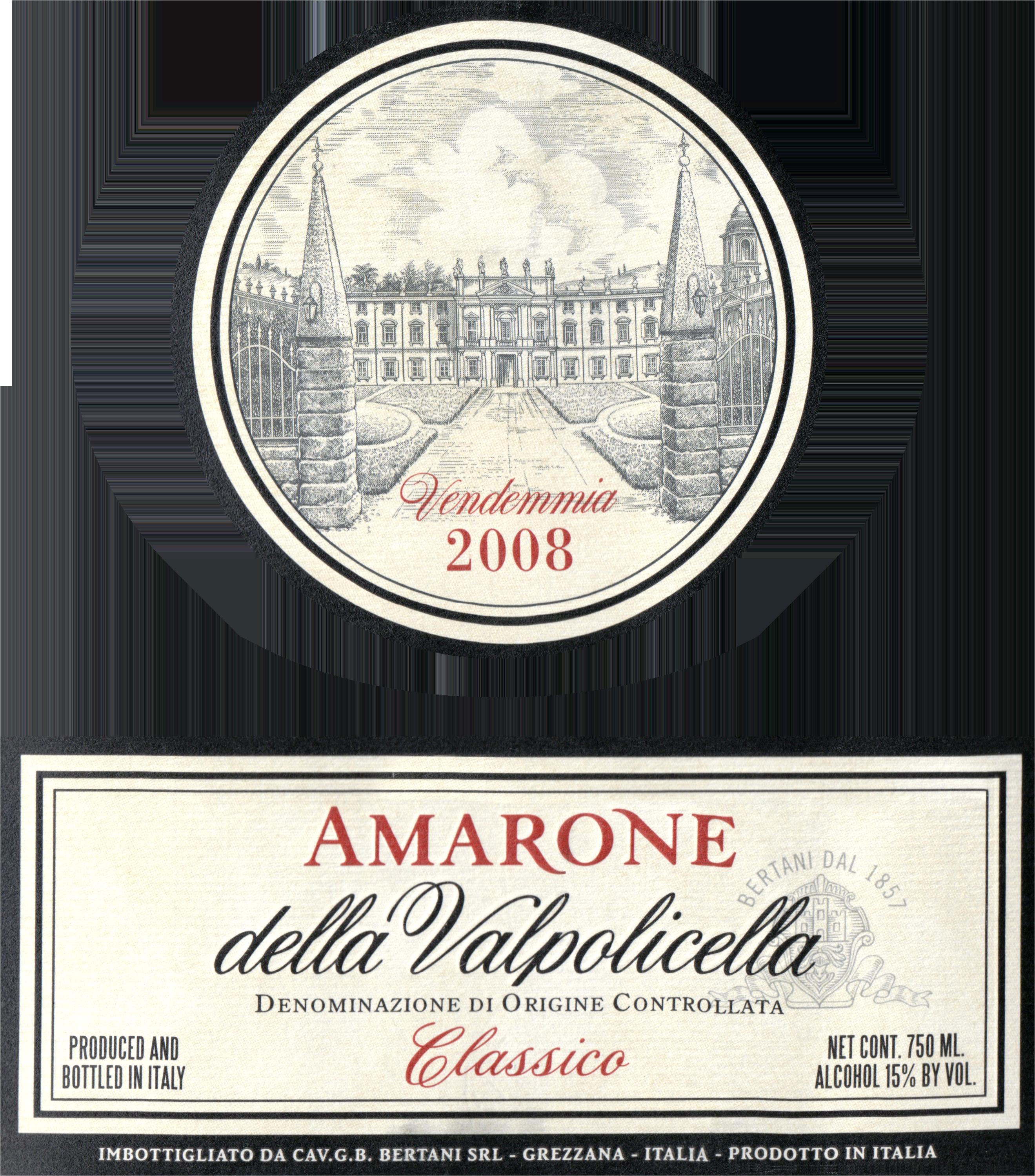 Bertani Amarone 2008