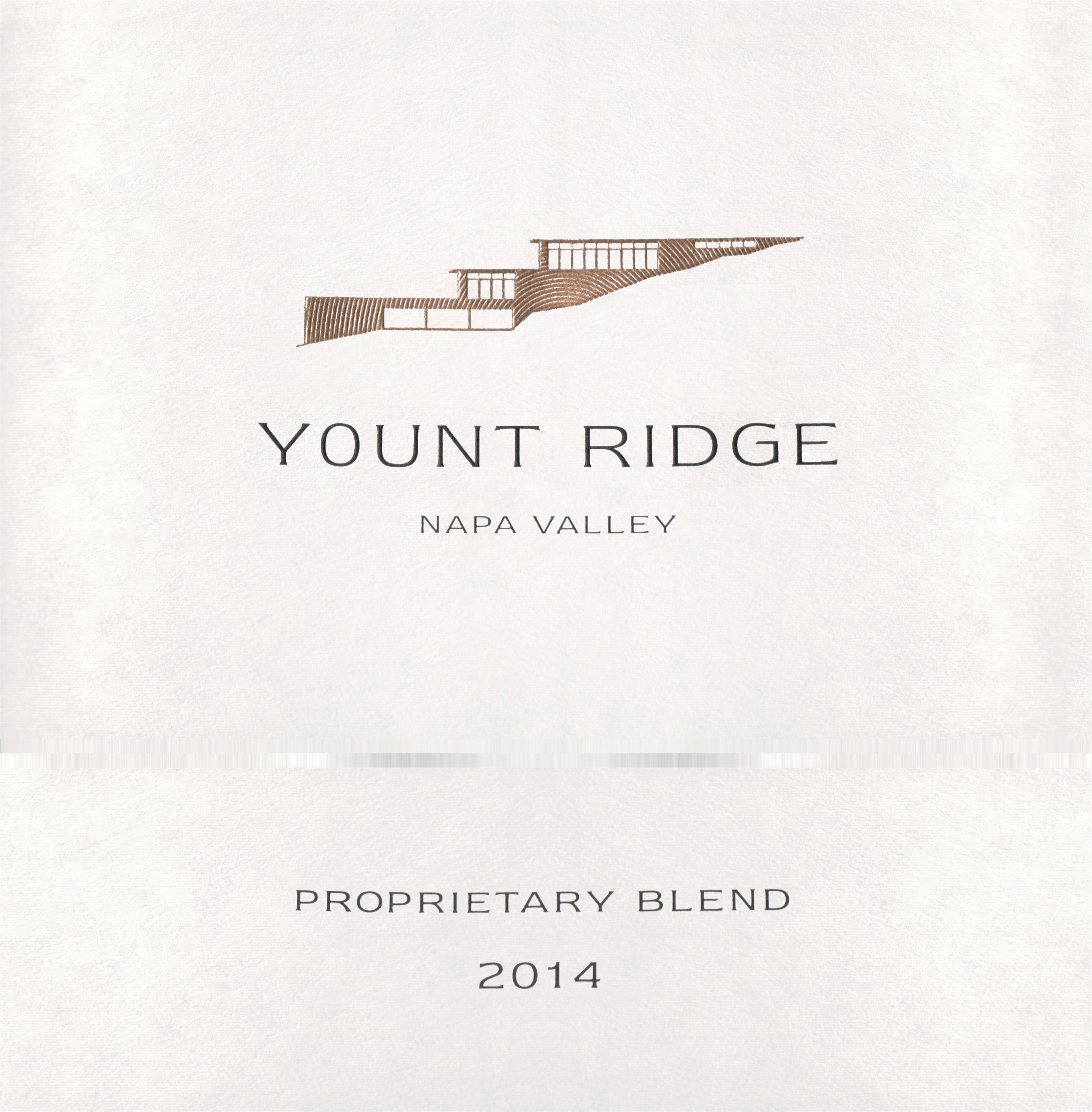 Yount Ridge Cellars Proprietary Red Napa Valley 2014