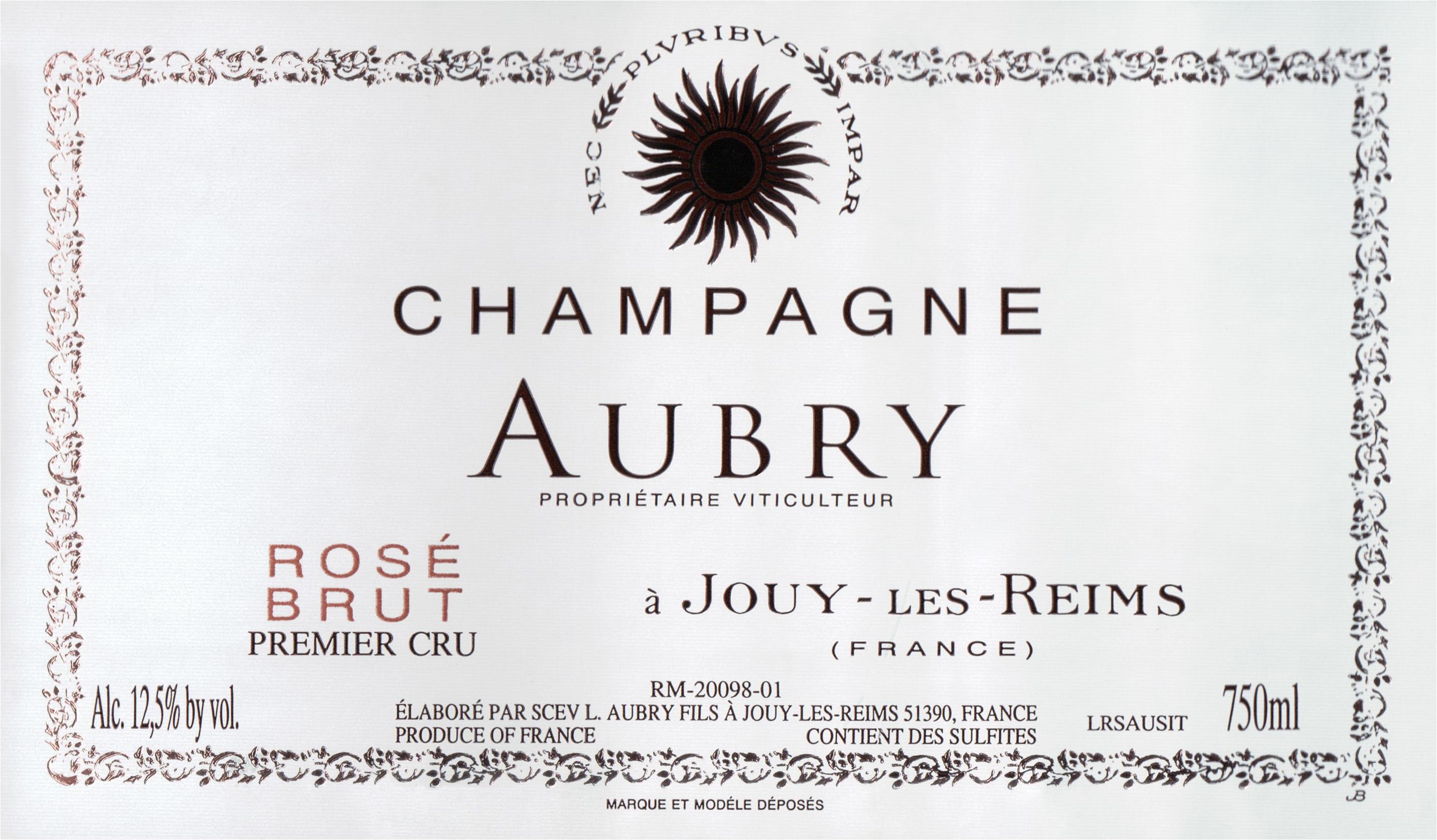 Aubry Brut Rose Premier Cru