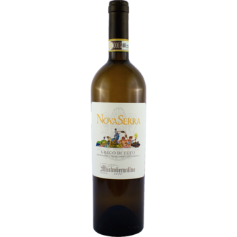 Bottle shot for 2016 Mastroberardino Greco Di Tufo Nova Serra
