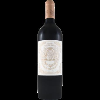 Bottle shot for 2016 Chateau Pichon Baron Pauillac
