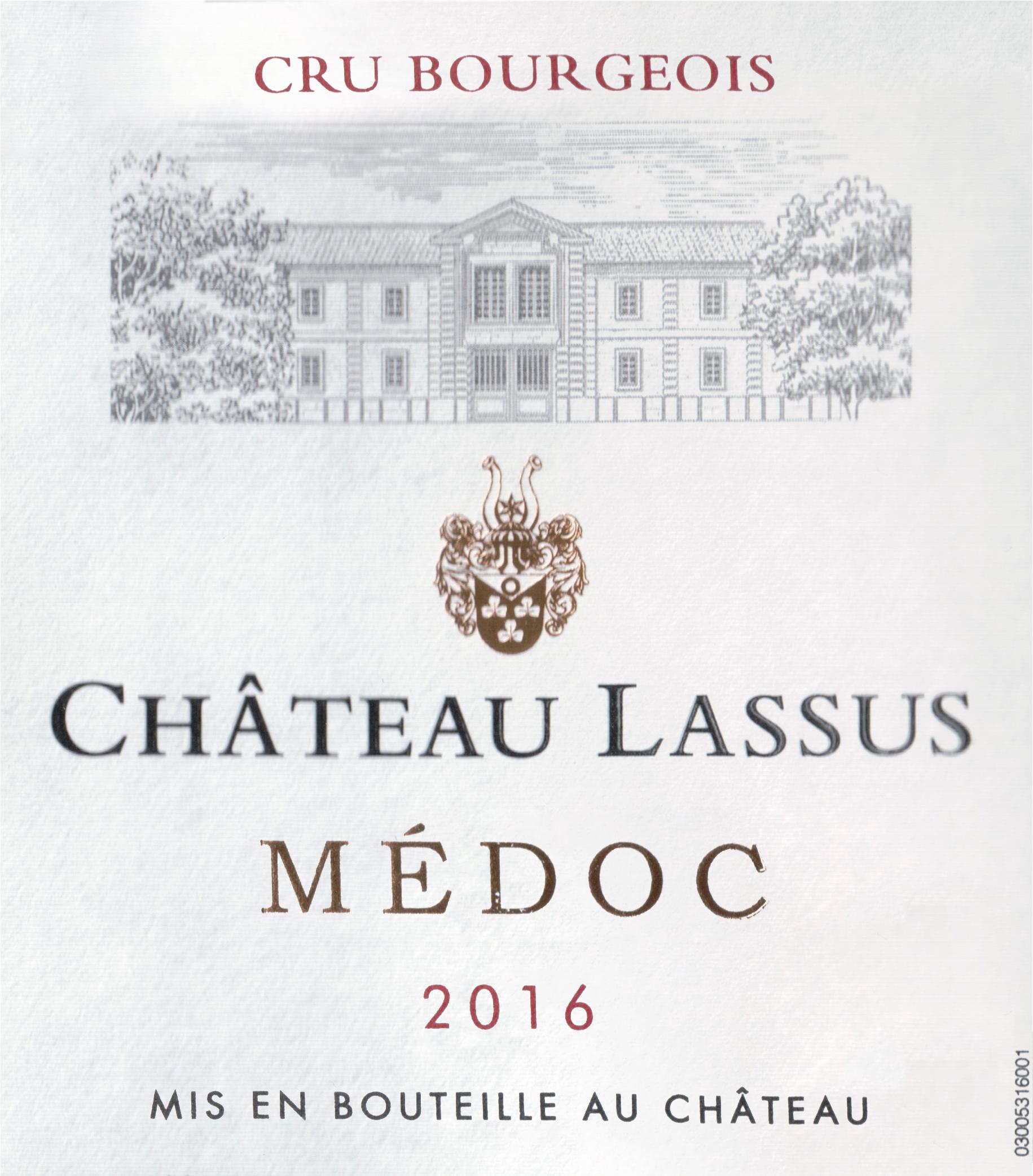 Chateau Lassus 2016