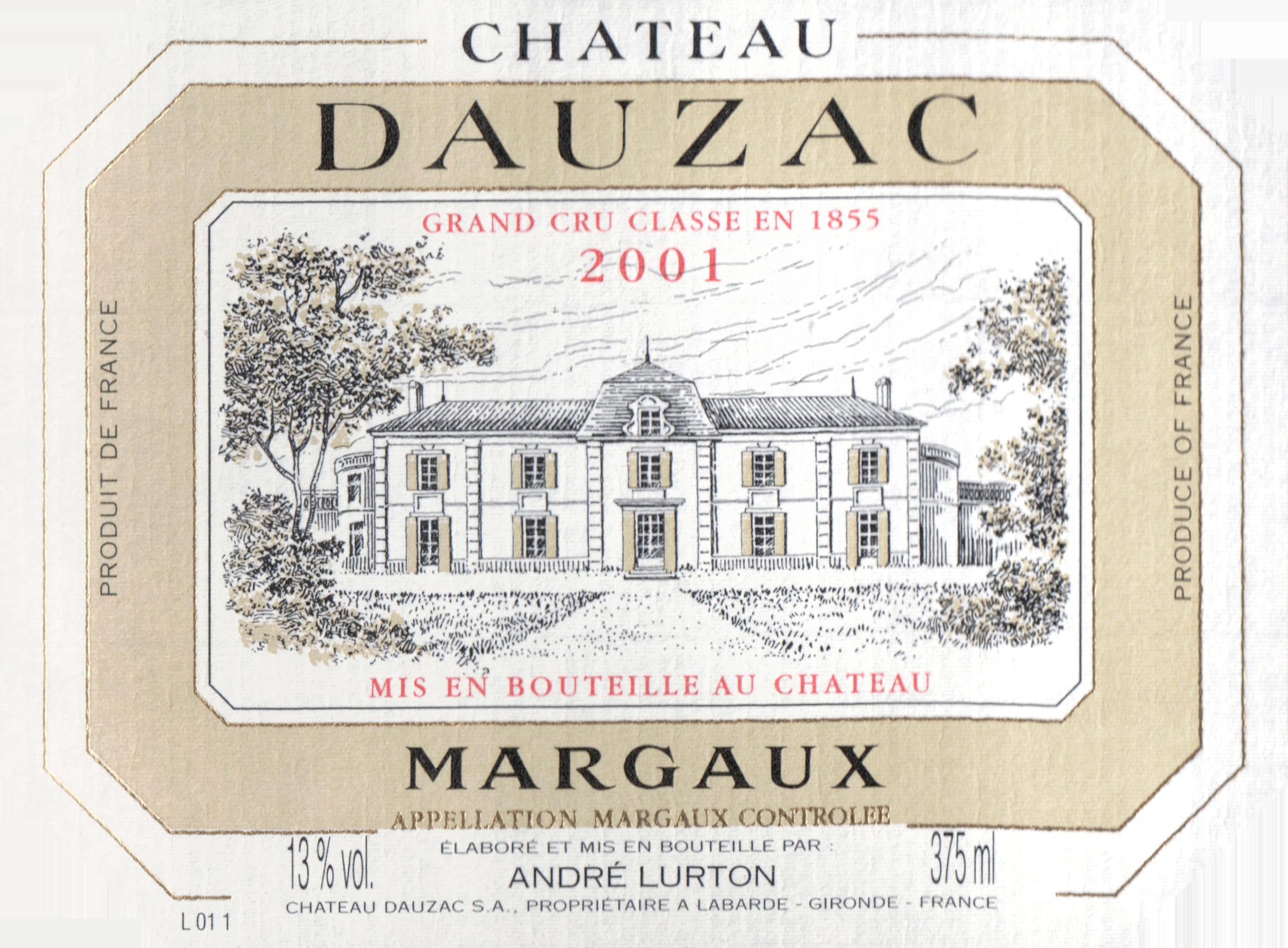Chat Dauzac 2001