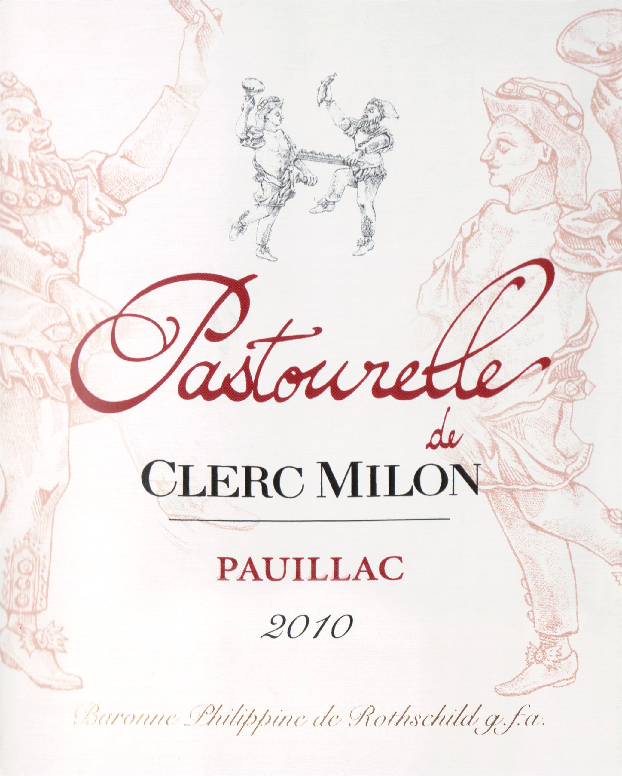 Pastourelle De Clerc Milon Half Bottle 2010