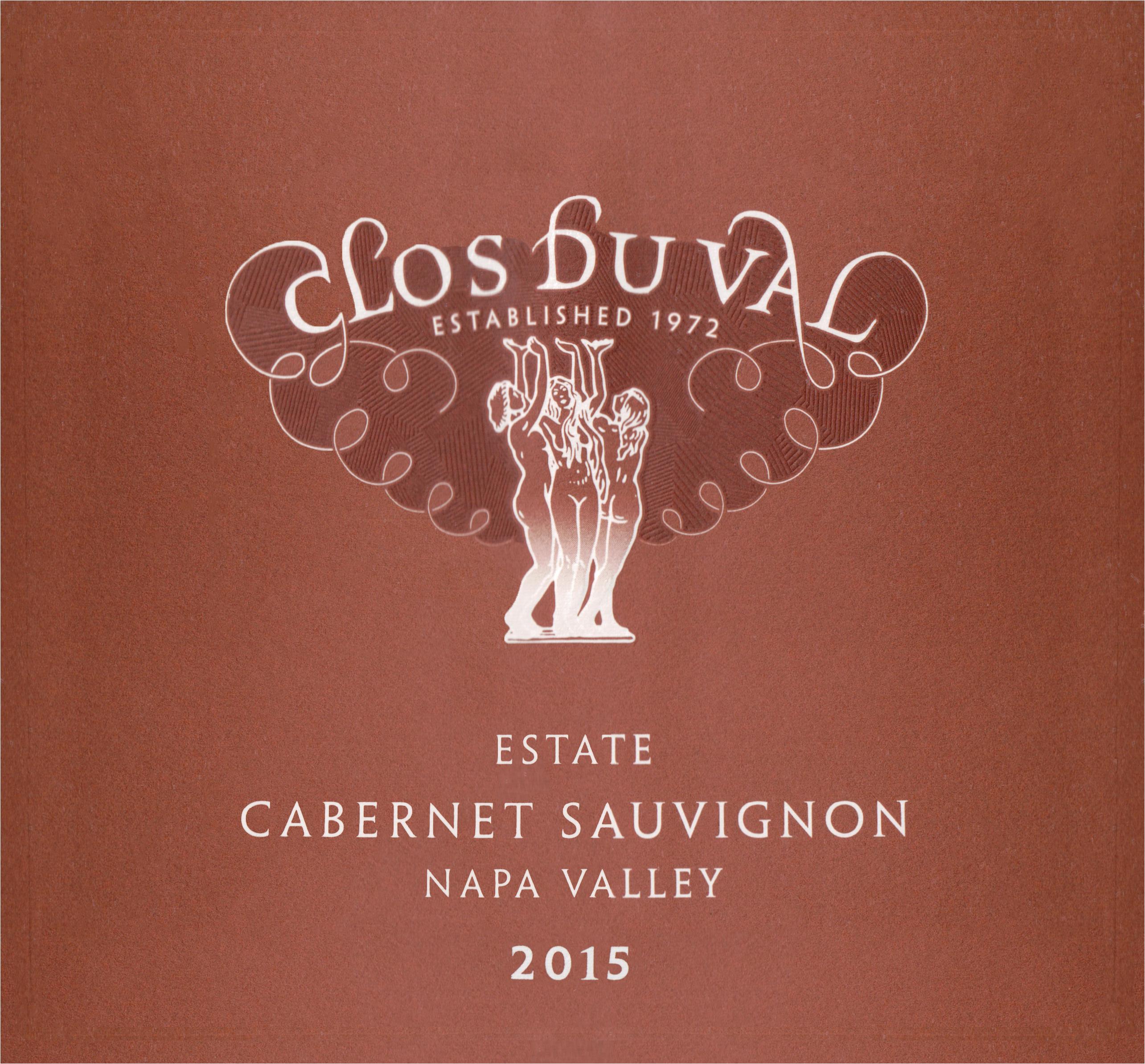 Clos Du Val Napa Cabernet Sauvignon 2015