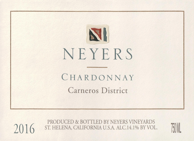 Neyers Chardonnay Carneros 2016