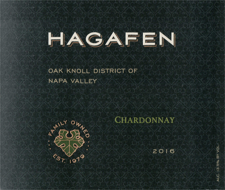 Hagafen Chardonnay (U) 2016