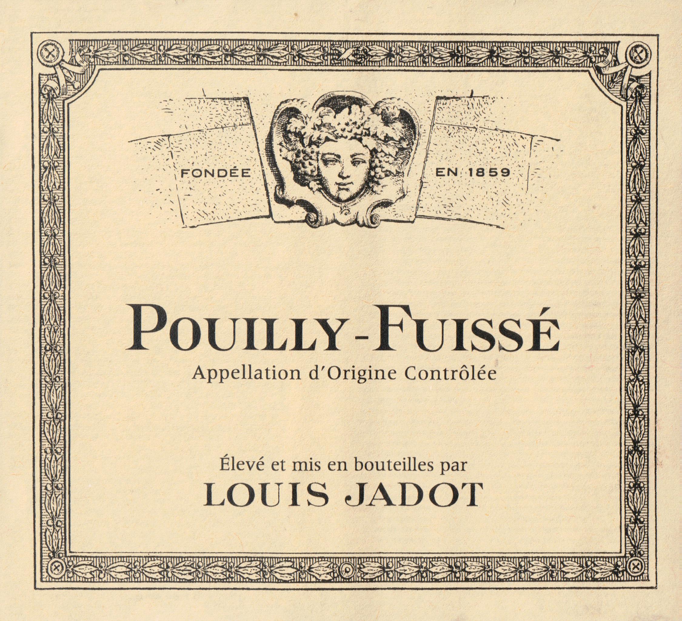 Louis Jadot Pouilly Fuisse 2017