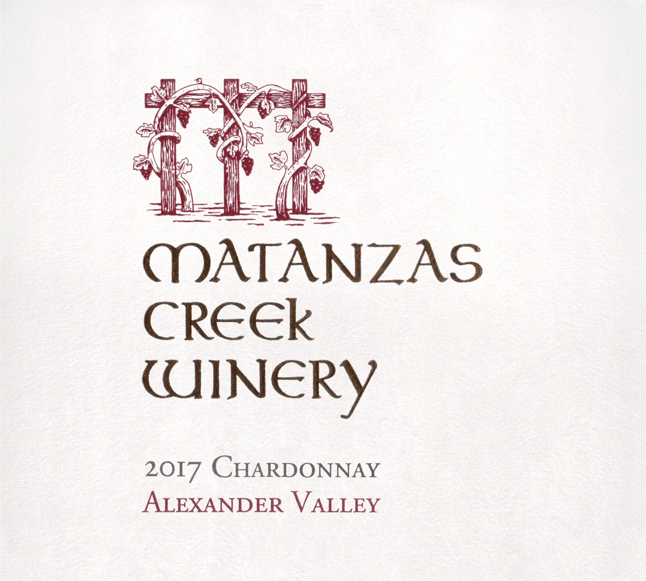 Matanzas Creek Sonoma Chardonnay 2017
