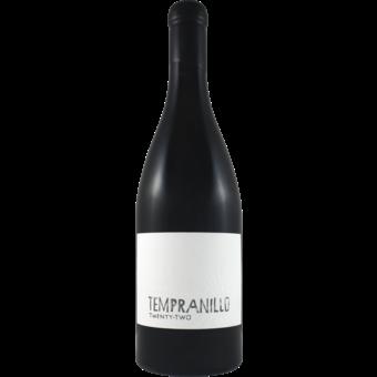 Bottle shot for 2016 Booker Tempranillo Extended '22'
