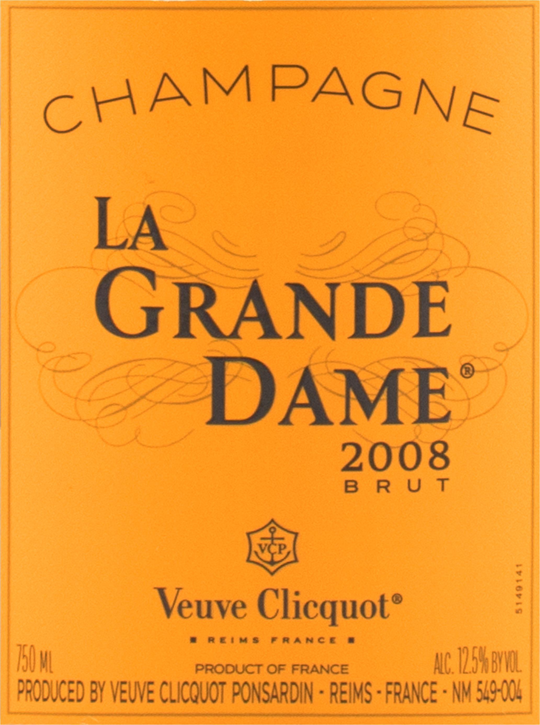 Veuve Clicquot La Grande Dame 2008