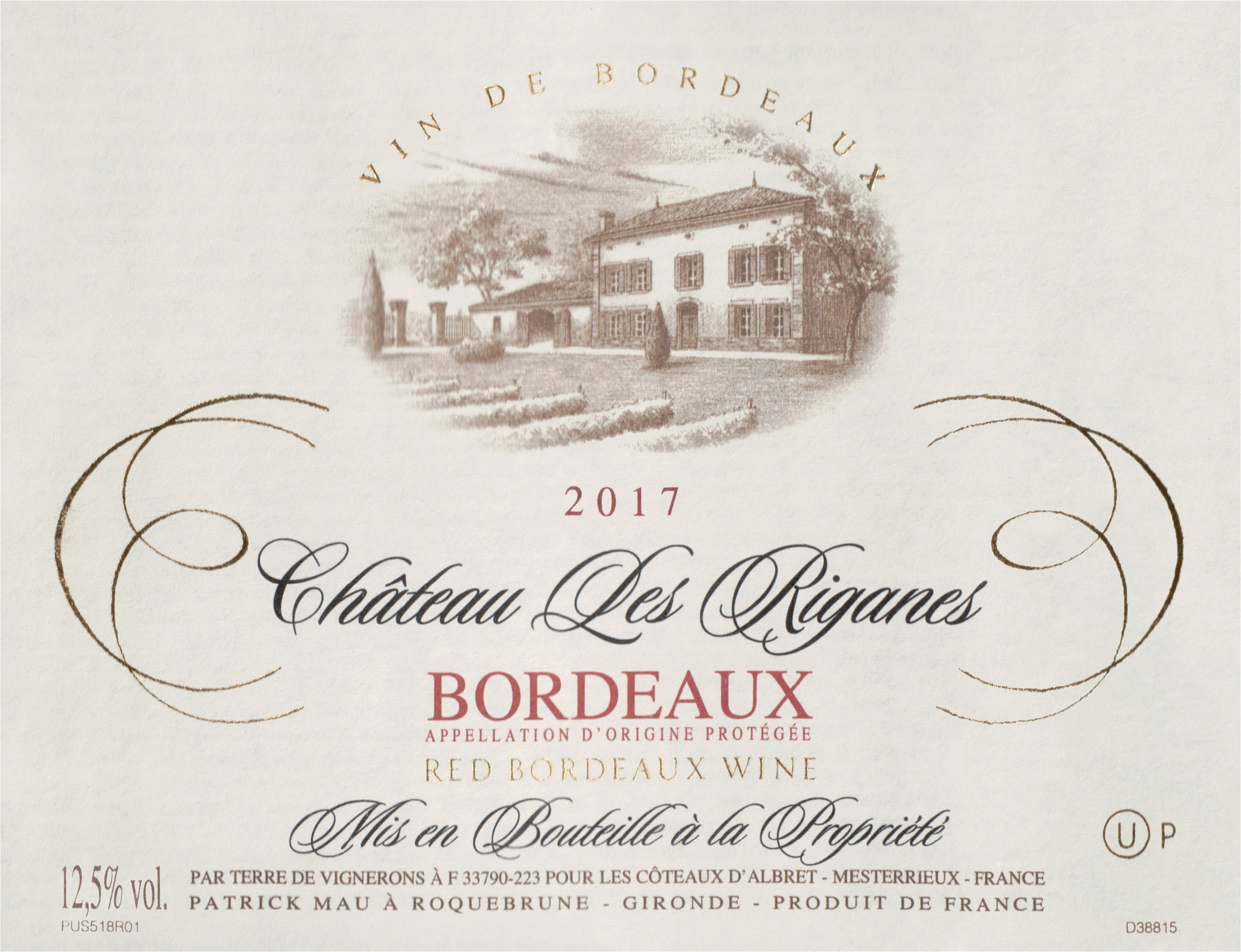 Chateau Les Riganes 2017