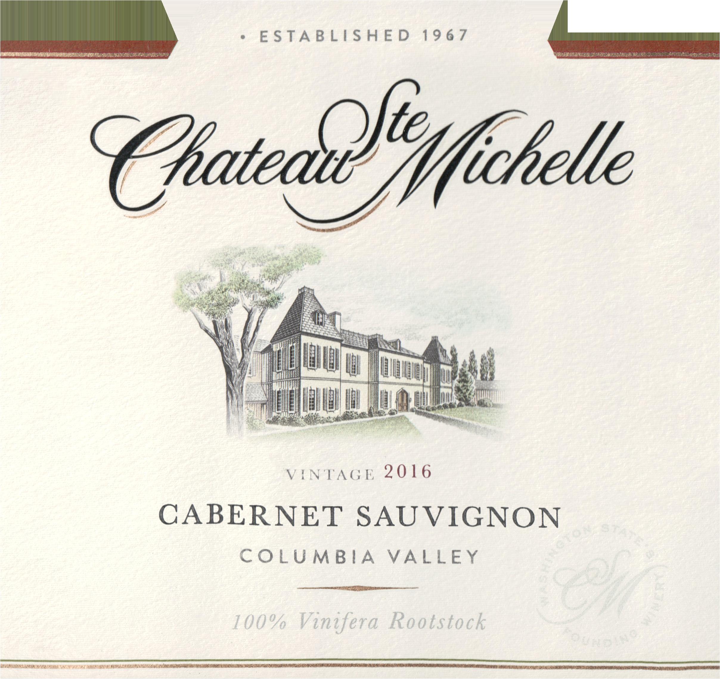 Chateau St Michelle Cabernet 2016
