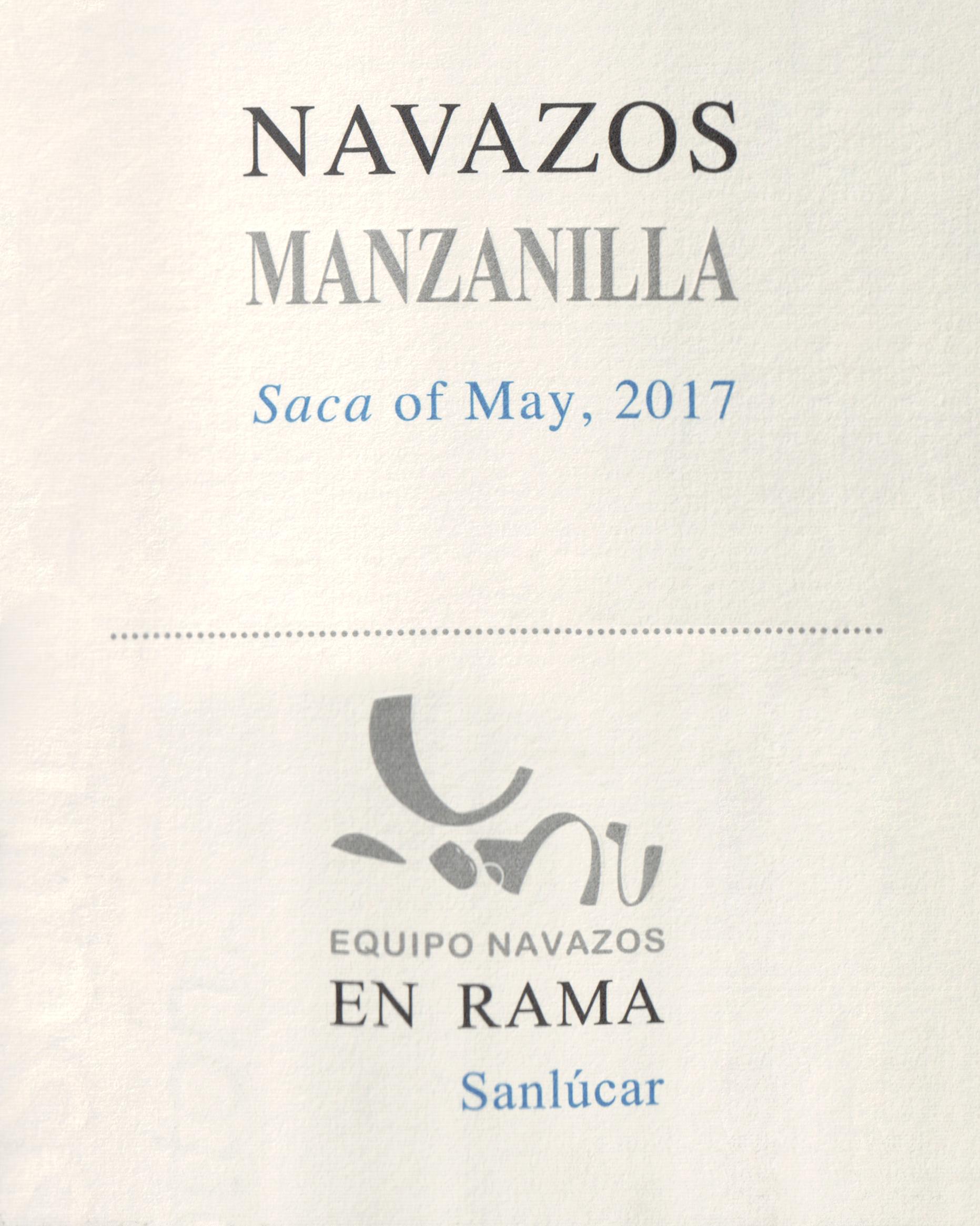 Equipo Navazos La Bota De Manzanilla En Rama