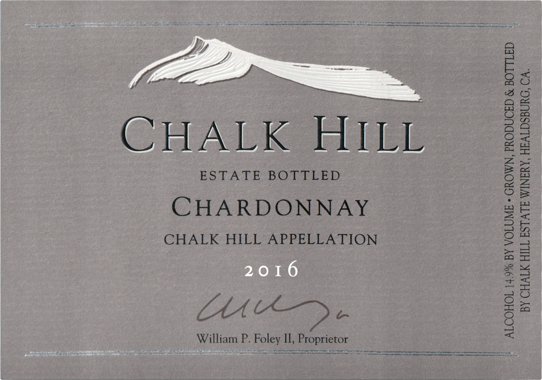 Chalk Hill Estate Chardonnay 2016