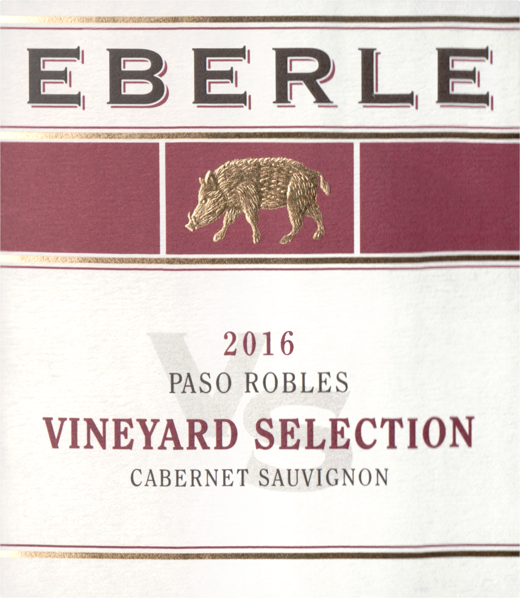 Eberle Cabernet Sauvignon Vineyard Select 2016